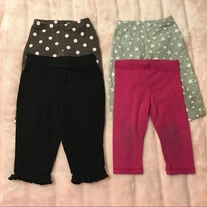 Other - Girls Leggings Bundle Size 12 Months